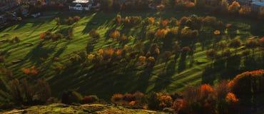 Beauté colorée d'automne Photo stock