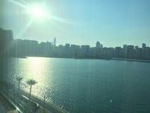 Beauté d'Abu Dhabi Photos stock