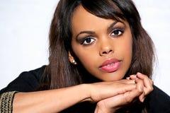 Beauté d'Afro-américain Photo libre de droits