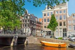 Beauté d'Amsterdam Photos libres de droits