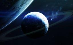 Beauté d'espace lointain Éléments de cette image meublés par la NASA Photo stock