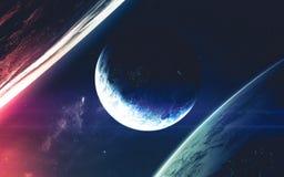 Beauté d'espace lointain Éléments de cette image meublés par la NASA Images stock