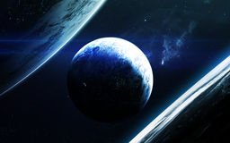 Beauté d'espace lointain Éléments de cette image meublés par la NASA Image stock