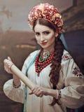 Beauté d'Ethno Belle jeune femme photos libres de droits