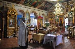 Beauté d'une petite église Image stock