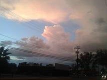 Beauté dans le ciel Photos libres de droits