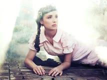 Beauté de Brunette Images stock