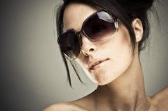 Beauté de Brunette photographie stock libre de droits