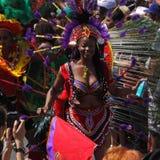 Beauté de carnaval Photo stock