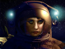 Beauté de cosmos illustration libre de droits