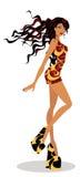 Beauté de danse Image libre de droits
