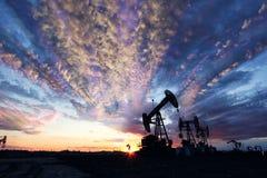 Beauté de gisement de pétrole Photos libres de droits
