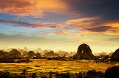 Beauté de Guilin Photos stock