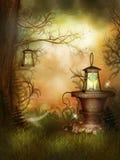 Beauté de jardin magique Images libres de droits