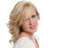 Beauté de l'adolescence blonde Photo libre de droits