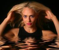 Beauté de l'eau Images libres de droits