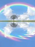 Beauté de l'hiver d'imagination Images libres de droits