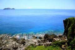 Beauté de l'océan Photographie stock