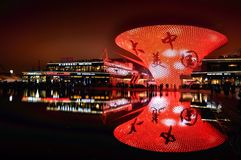 Beauté de la Chine Photos stock