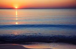 Beauté de lever de soleil photographie stock
