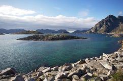 Beauté de Lofoten Image libre de droits
