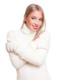 Beauté de mode d'hiver Photo libre de droits