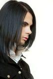 Beauté de mode de Gothik Photographie stock
