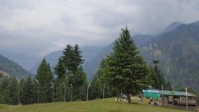 Beauté de montagnes de Neelum Images libres de droits
