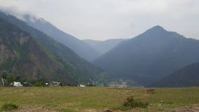 Beauté de montagnes de Neelum Photos libres de droits