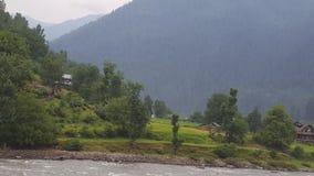 Beauté de montagnes de Neelum Photographie stock