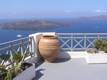Beauté de Santorini images libres de droits