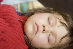 Beauté de sommeil Photos stock