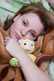 Beauté de sommeil Photographie stock libre de droits