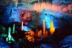 Beauté de stalactite Images libres de droits