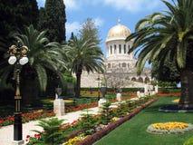 Beauté des jardins de Bahai. Images stock