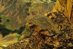 Beauté des montagnes de beartooth photographie stock libre de droits