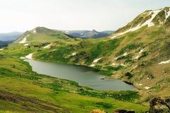 Beauté des montagnes de beartooth photos stock
