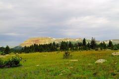 Beauté des montagnes de beartooth image libre de droits