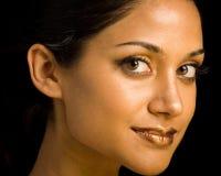 Beauté en bronze Images libres de droits