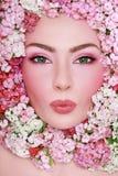 Beauté en fleurs photographie stock