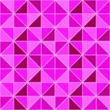 Beauté et modèle sans couture de mode Fond triangulaire de vecteur contexte géométrique moderne avec des triangles et des places  illustration libre de droits