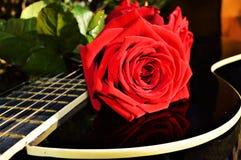 Beauté et musique Photo libre de droits