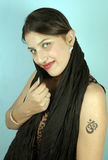 Beauté indienne Photo stock