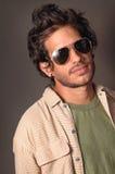 Beauté mâle hispanique Images stock