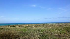 Beauté naturelle d'Aruba Côte du nord Aruba tous terrains Paysage en pierre stupéfiant de désert, clips vidéos