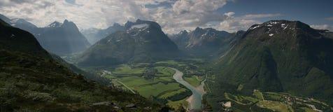 Beauté norvégienne photo stock