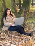 Beauté pendant l'automne Photo libre de droits