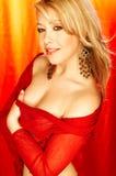 Beauté rouge Images stock