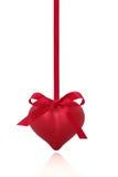 Beauté rouge de coeur Photo stock