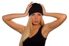 Beauté russe de mode    Image libre de droits